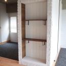 LDKと個室がゆるやかにつながるリラックス空間の写真 壁収納