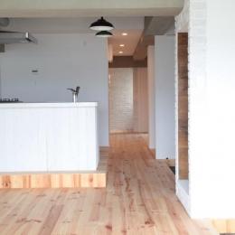 LDKと個室がゆるやかにつながるリラックス空間
