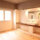 OCEANSの住宅事例「LDKと個室がゆるやかにつながるリラックス空間」
