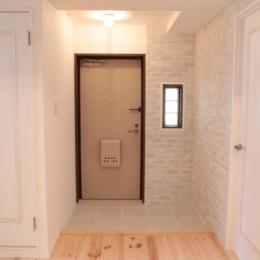 オーシャンビューも楽しめるリゾートのような空間 (コンパクトな玄関)