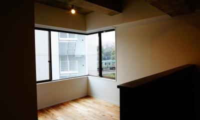 北参道のマンションリノベーション (寝室)