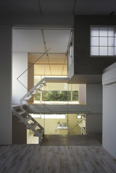 仲條邸 (階段)