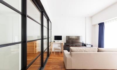 O邸-「リビング隣の個室、どう使うか問題」について考える (リビング)