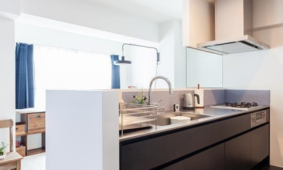 O邸-「リビング隣の個室、どう使うか問題」について考える (キッチン)