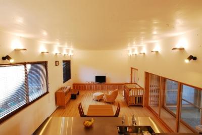 ibushi-京壁の家 (リビングダイニング)