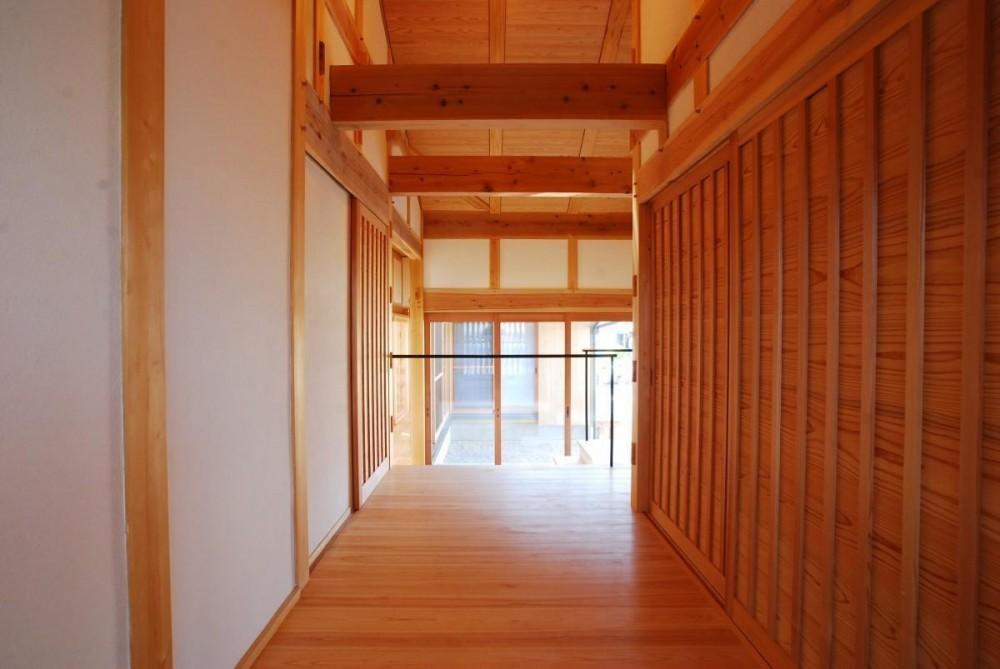 ibushi-京壁の家 (廊下)