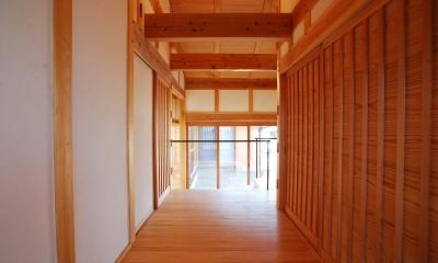 廊下|ibushi-京壁の家