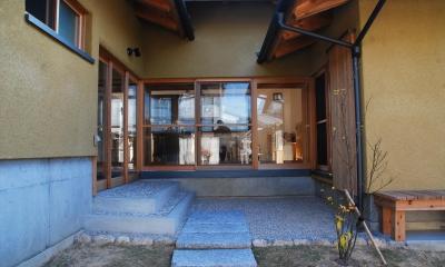 玄関|ibushi-京壁の家