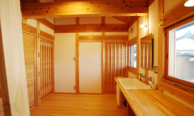 洗面|ibushi-京壁の家