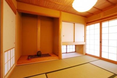 和室 (ibushi-京壁の家)