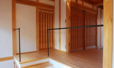 ibushi-京壁の家 (玄関)