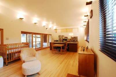 ibushi-京壁の家 (リビング)