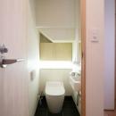 引戸でつながる 部屋が広がるの写真 トイレ