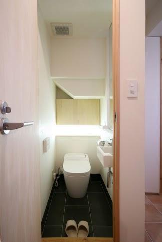 引戸でつながる 部屋が広がる (トイレ)