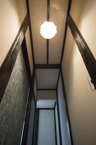 古民家風フルリノベーション (階段)