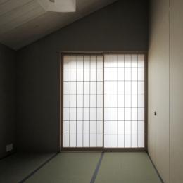 給田の家 寝室