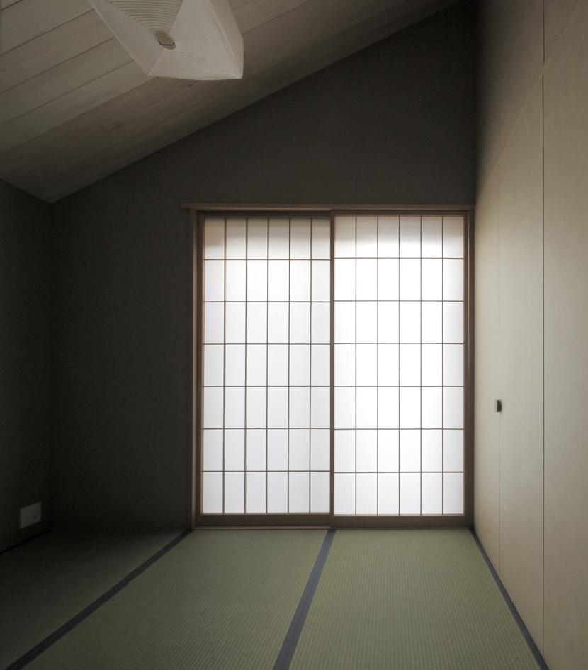 給田の家の部屋 給田の家 寝室