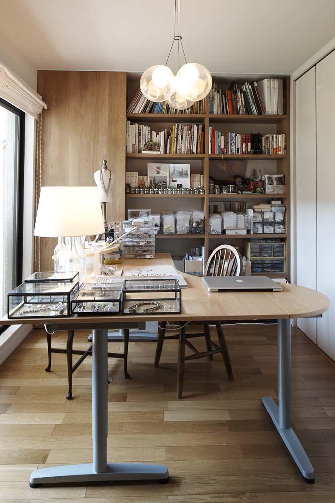 夫の母が長年住んだ低層マンションを 夫婦ふたりが暮らしやすい家にの部屋 アトリエ