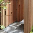 小金井の家 玄関
