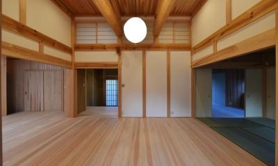 愛知の石場建て (茶の間3)