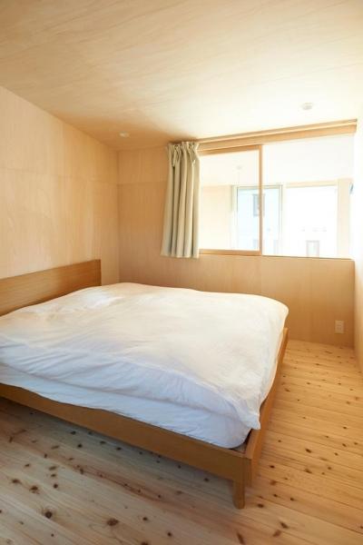瀬戸八王子の家 (シンプルな寝室)
