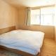 シンプルな寝室 (瀬戸八王子の家)