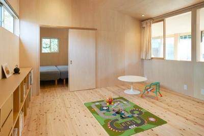 瀬戸八王子の家 (子供室)