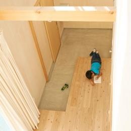 瀬戸八王子の家 (くつろげる玄関)