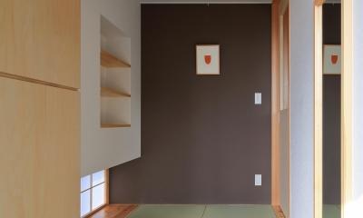 平塚町の家~20坪の豊かな暮らし~ (玄関ホール)