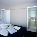 南麻布の家 寝室