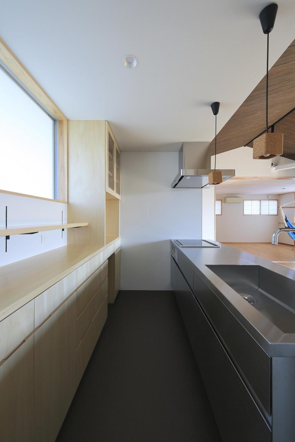 平塚町の家~20坪の豊かな暮らし~ (キッチン)
