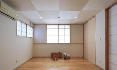 平塚町の家~20坪の豊かな暮らし~ (寝室)