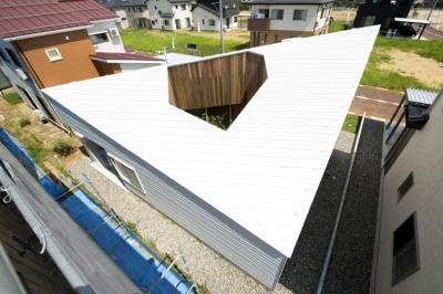 カタチのヒミツ (個性的な屋根)