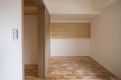 寝室、収納室、客間 (猫と茶の間暮らし すくすくリノベーションvol.8)