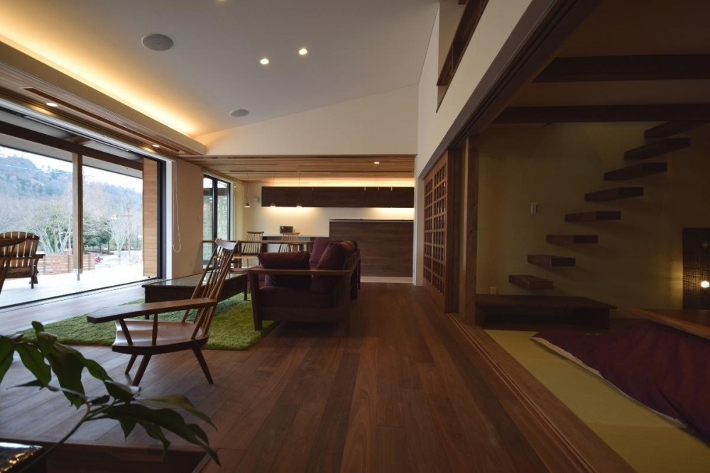 西条の家 House In Saijo (リビング)