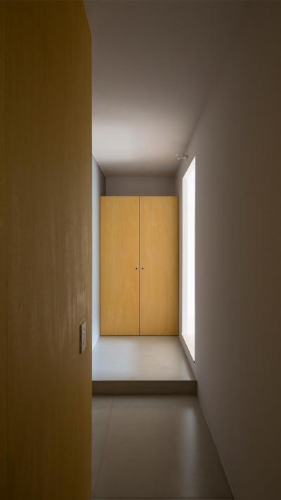 廊下と建具 (閑かな家)