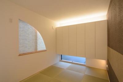 和室 (cool modern style)
