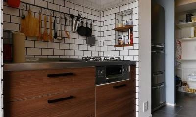 キッチン|暮らしに合わせて変えていける あえて作りこまない家