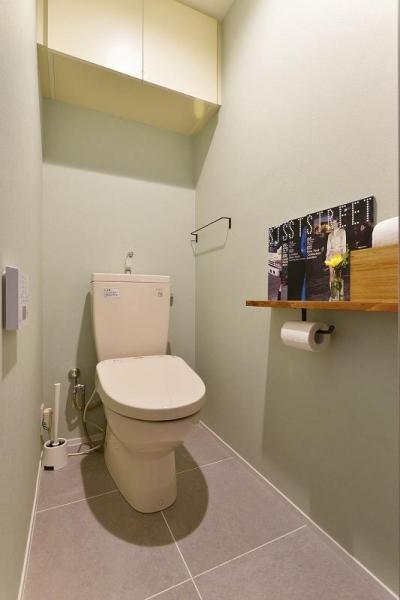 トイレ (暮らしに合わせて変えていける あえて作りこまない家)
