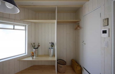 オープンクローゼット (賃貸で自分らしい部屋に住む)