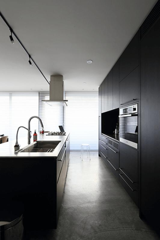 Yレジデンスの写真 機能的なアイランドキッチン