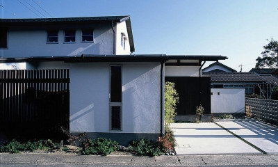 上福原の家 (外観)