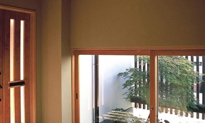 玄関|上福原の家