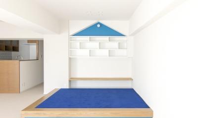 小上りのあるキッズスペース|子どもの小上がりのある家 すくすくリノベーションvol.9