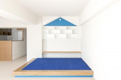 小上りのあるキッズスペース (子どもの小上がりのある家 すくすくリノベーションvol.9)