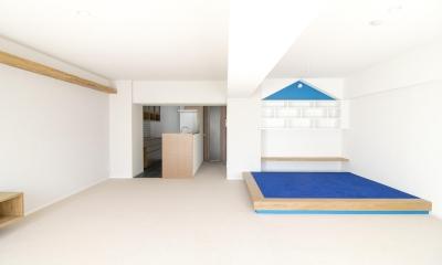 子どもの小上がりのある家 すくすくリノベーションvol.9 (LDK)