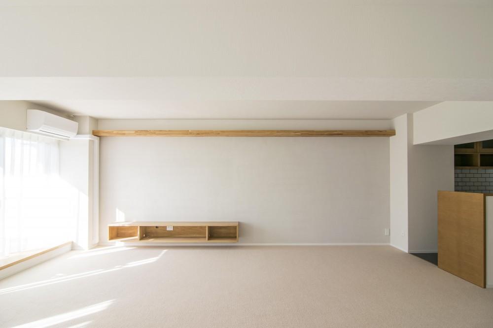 子どもの小上がりのある家 すくすくリノベーションvol.9 (左官壁の風合い)