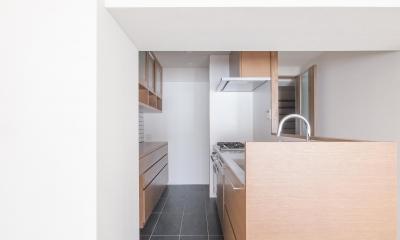 子どもの小上がりのある家 すくすくリノベーションvol.9 (オーダーキッチン)