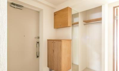 子どもの小上がりのある家 すくすくリノベーションvol.9 (コートクロークは玄関と一体的に)