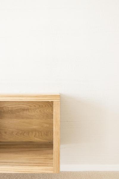子どもの小上がりのある家 すくすくリノベーションvol.9 (オーク無垢材で製作したTVボード)